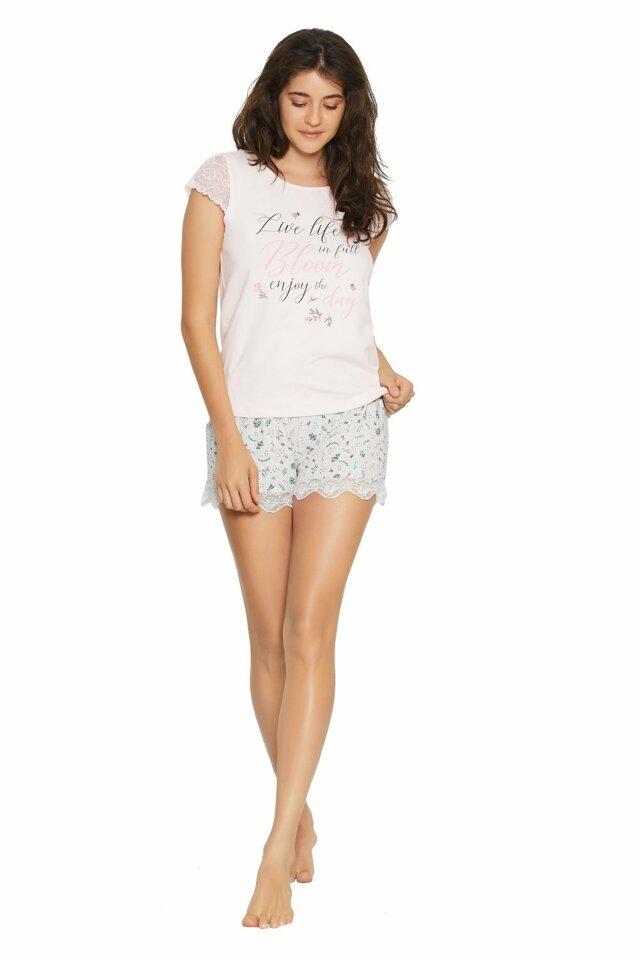 Dámské pyžamo 38049 - HENDERSON - S - růžová