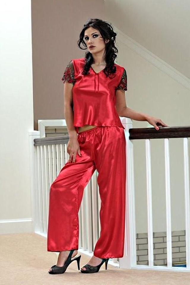 Dámské pyžamo Ewa red - XXL - červená