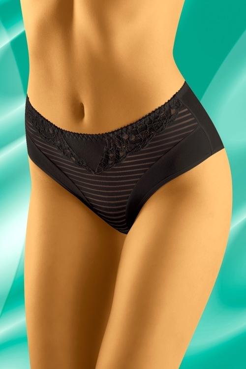 Dámské kalhotky eco-LO black - XL - černá