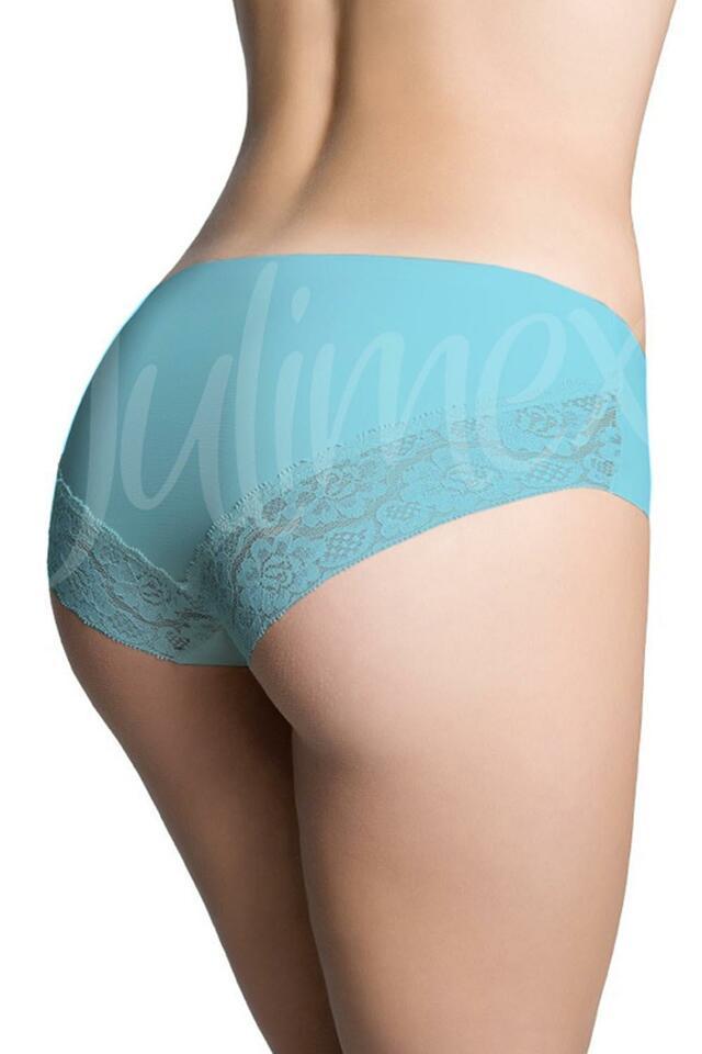 Klasické kalhotky Julimex Lingerie Cheekie panty - XL - béžová