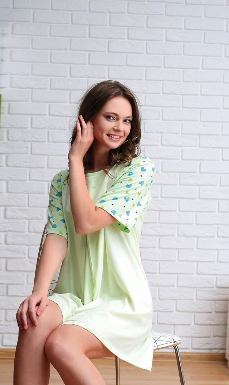 Košile Regina 062 - S - korálová