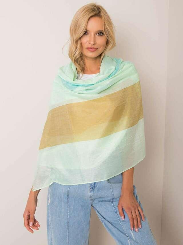 Zelený dámský šátek - jedna velikost