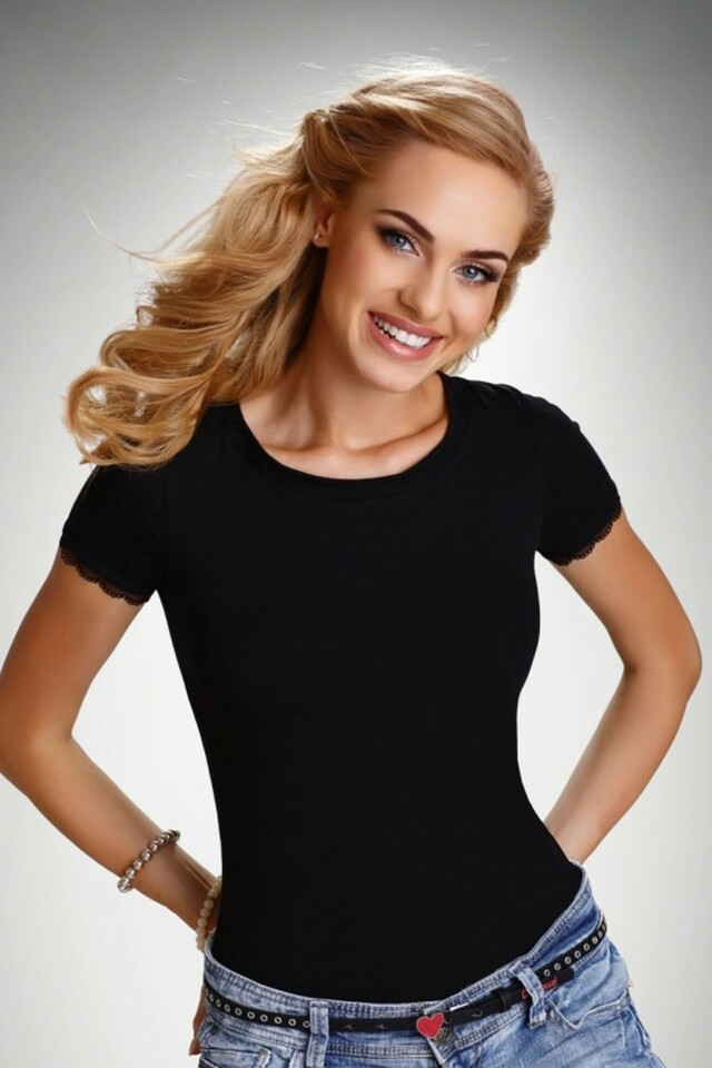 Dámské tričko Arabella black