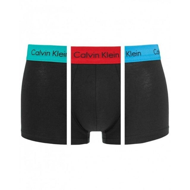 Boxerky 3pcs U2664G-LIY mix barev - Calvin Klein