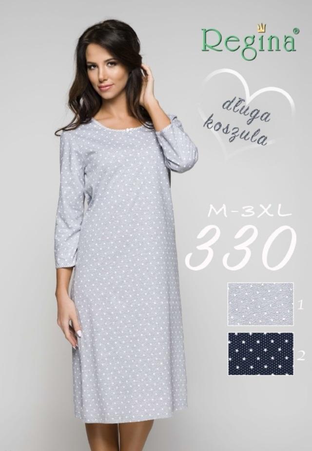 330 Dámská noční košile - tmavě modrá - M