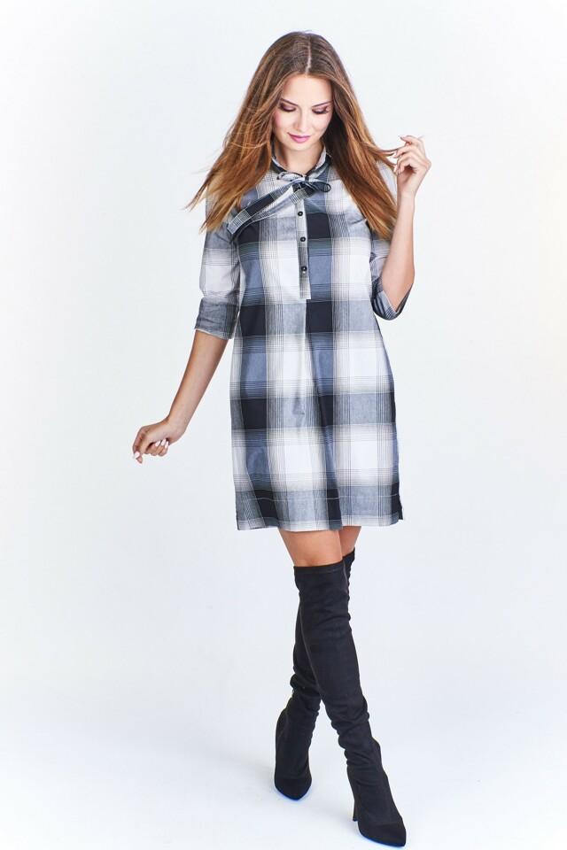 756c19c0eef Dámské košilové šaty M46317 - Okter