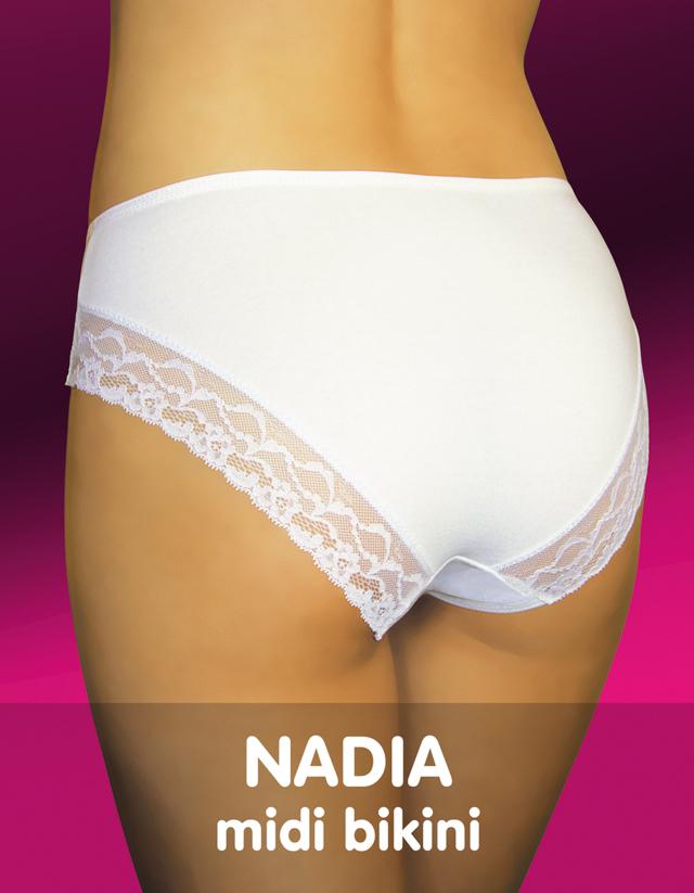 Dámské kalhotky NADIA - FUNNY DAY - XL - TMAVĚ MODRÁ