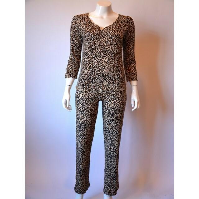 Dámské pyžamo 12 YPJ - CoCoon - L - leopard