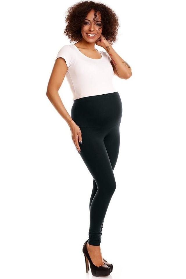 Těhotenské legíny Sheyla černé - XXL