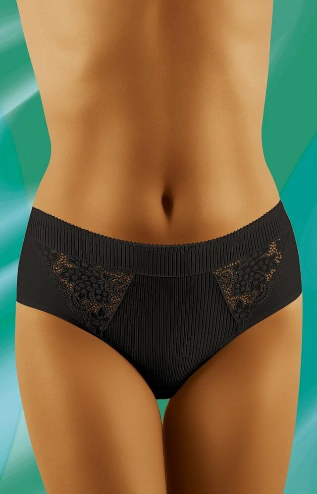 Dámské kalhotky eco-FI black - XXL - černá