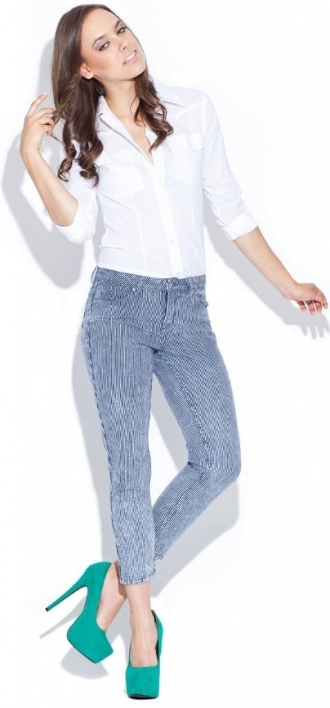 Dámská košile G022 - Figl - 36 - bílá
