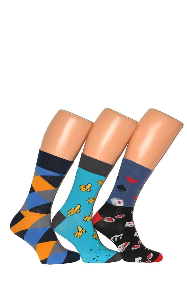 Pánské vzorované ponožky Tak Intenso 1917 - 44-46 - tyrkysová 03f2229473