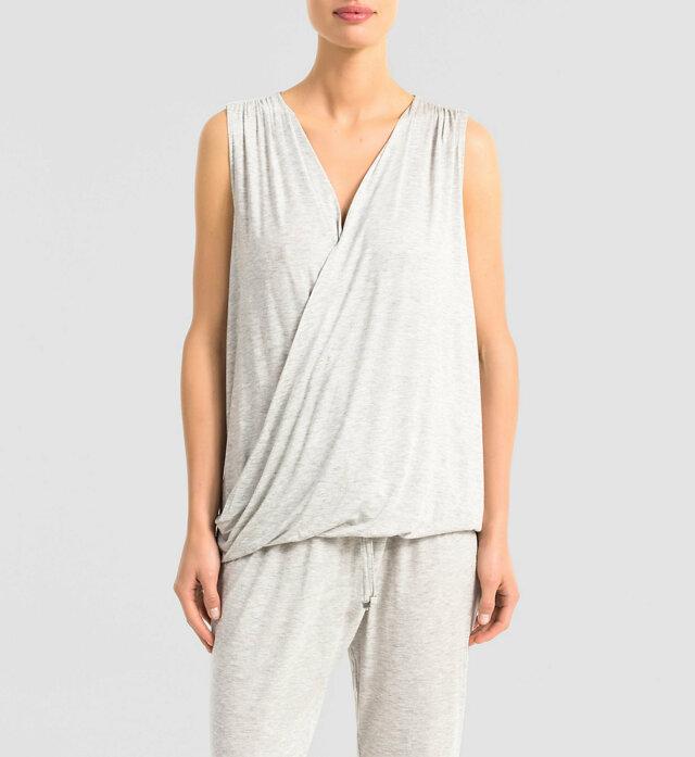 Dámské tričko Release QS5715E - Calvin Klein - S - modrá