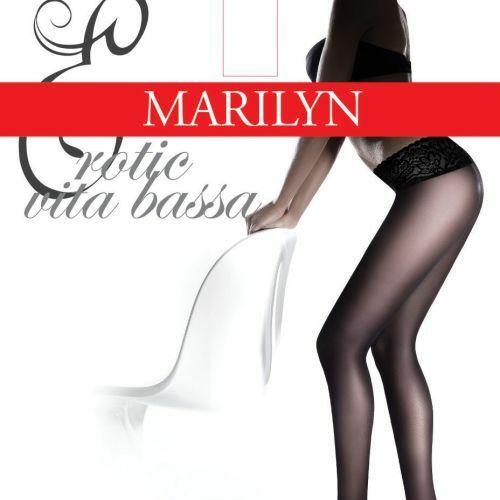 Dámské punčochové kalhotky Erotic Vita Bassa 30 DEN - Marilyn - 2-S - antilope