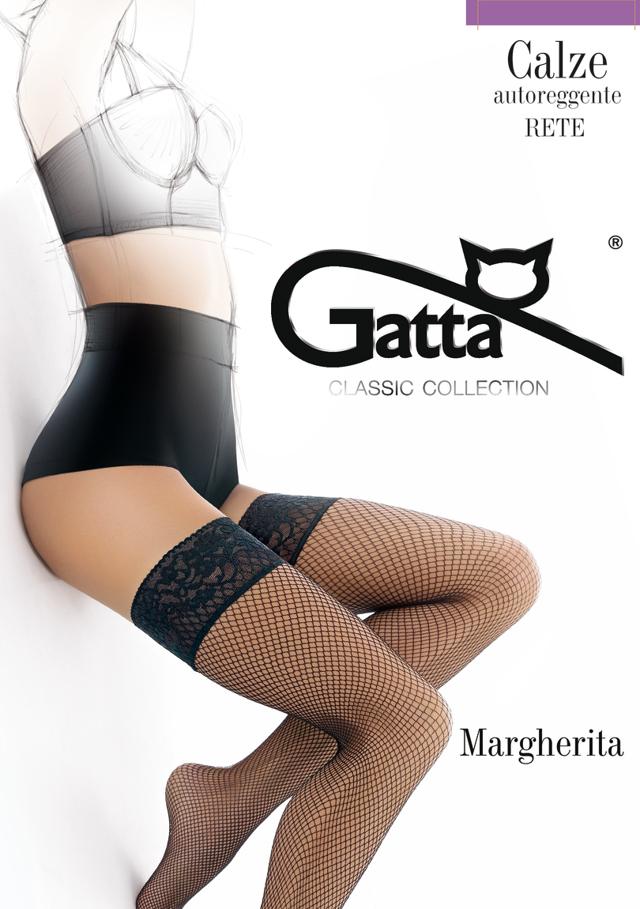 Dámské punčochy Margherita.. - GATTA - 1/2 - CAFFE