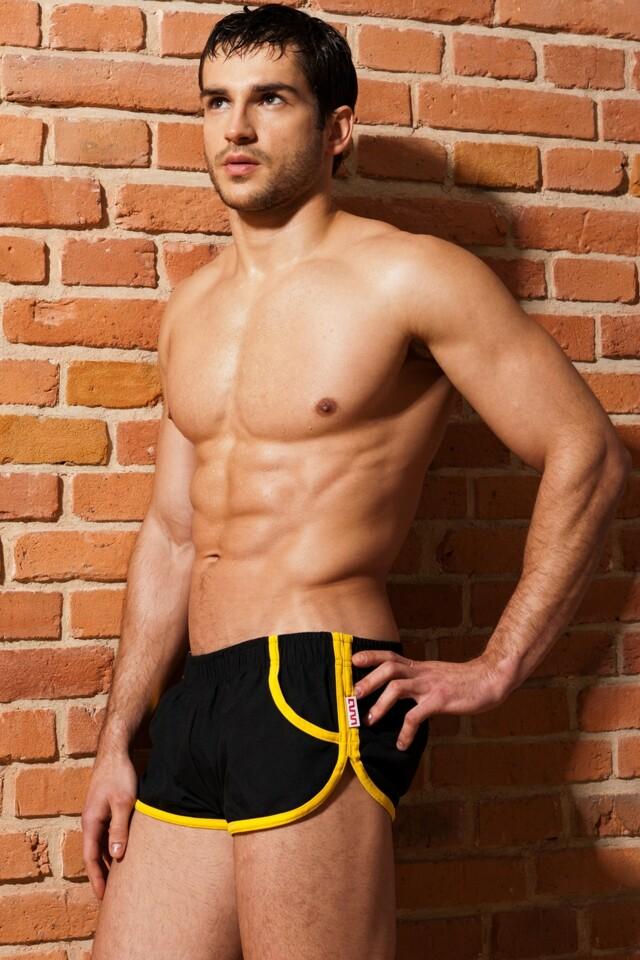 Alpha Male boxerkové plavky Imago černé - M