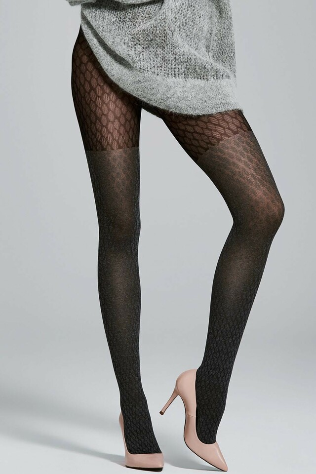 Dámské punčochové kalhoty Fiore Honest 40 DEN - 3-M - black