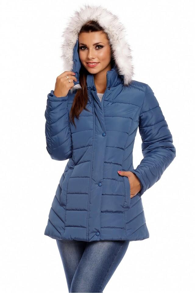Dámská bunda 63556 - Cabba - 50 - modrá