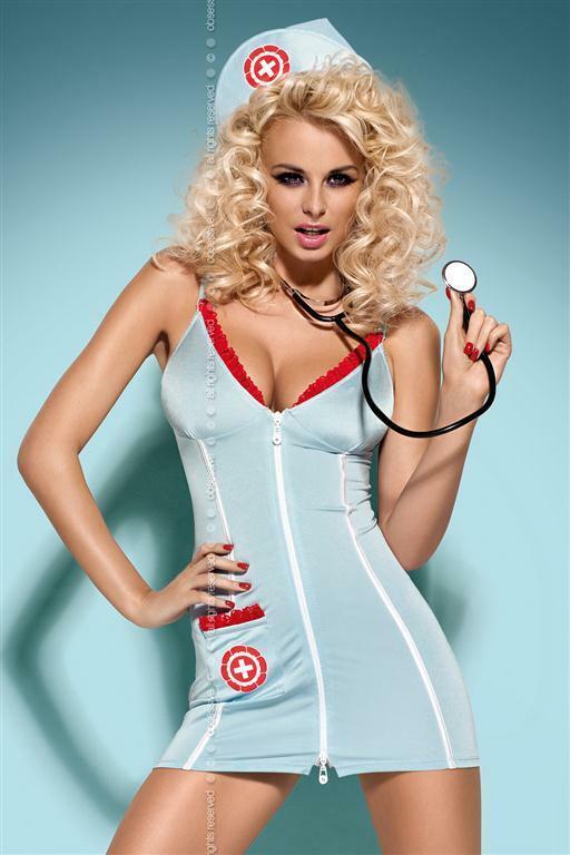 Sexy kostým Doctor dress + stetoskop - Obsessive