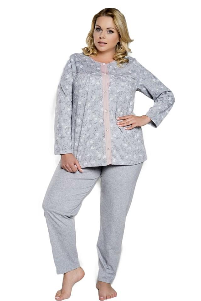 Dámské pyžamo Lawia - M - šedá