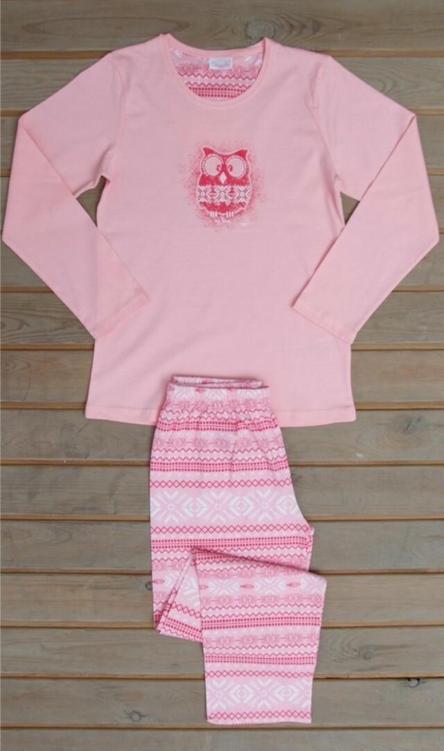 Dětské pyžamo dlouhé Sovička