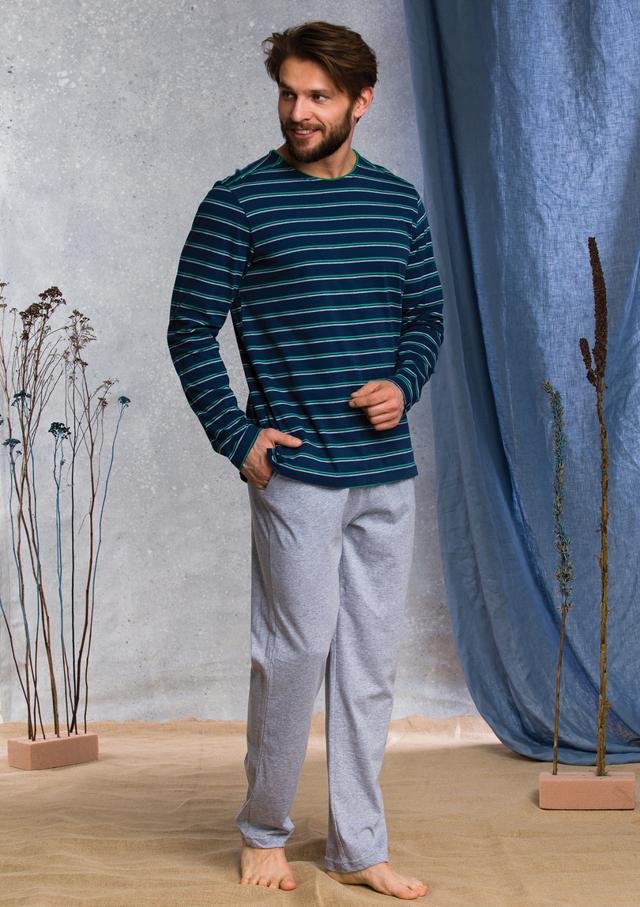 Pánské pyžamo MNS 371 B20 - XL