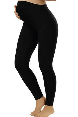 Legíny Italian Fashion III trymestr - L - černá