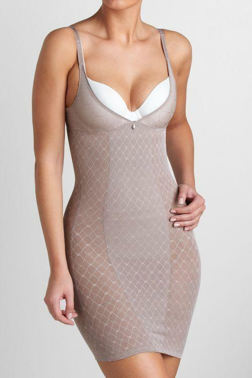 Spodnička Diamond Sensation Bodydress - Triumph - 36 - kávový cukr (3092)