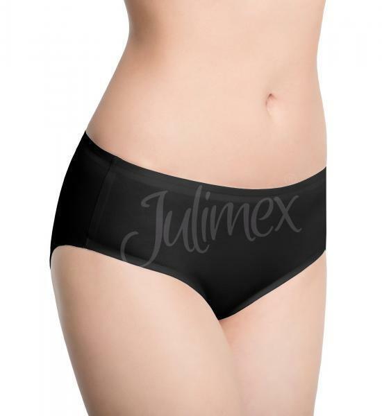 Dámské kalhotky Classic Cotton - Julimex - M - černá