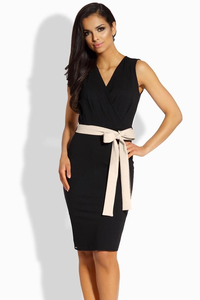 Dámské šaty Lemoniade L200 - L - černá