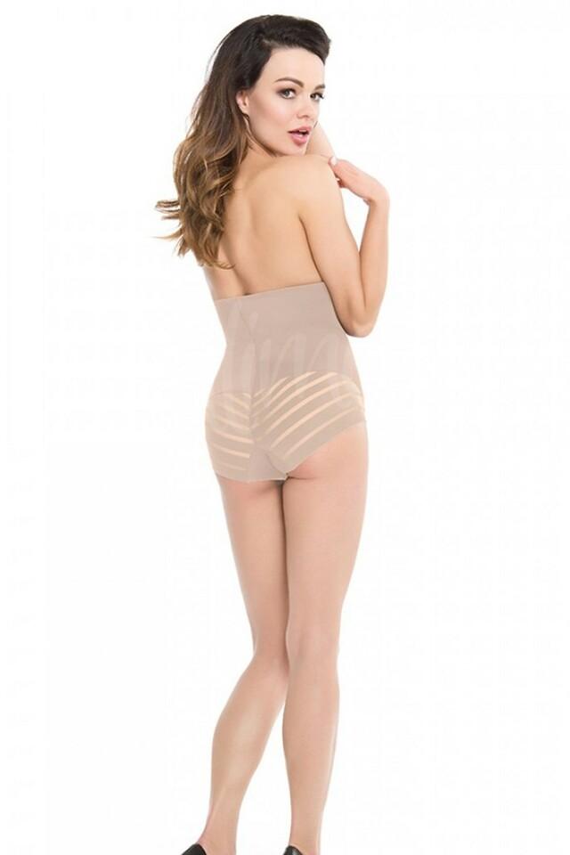 Dámské stahovací kalhotky 141 natural - L - tělová