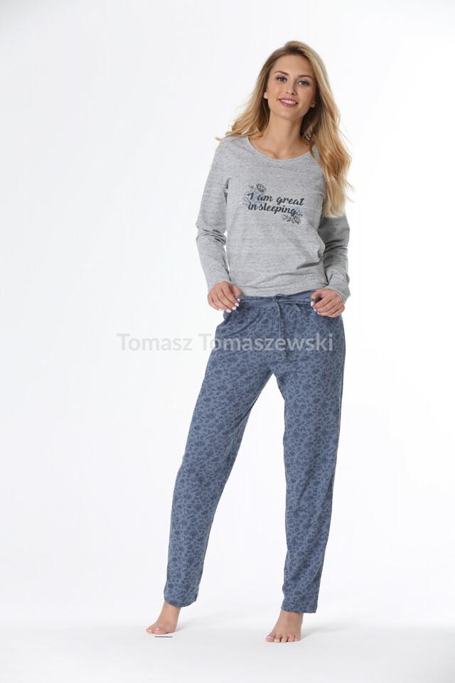 Dámské pyžamo Rossli SAL-PY-1075 dł/r