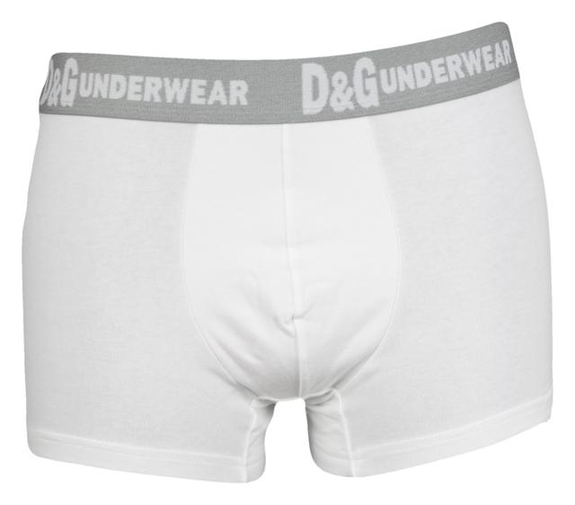 Pánské boxerky M30494 white - Dolce Gabbana - L - bílá