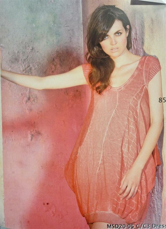 Šaty MSD20 - Morgana - M - oranžová