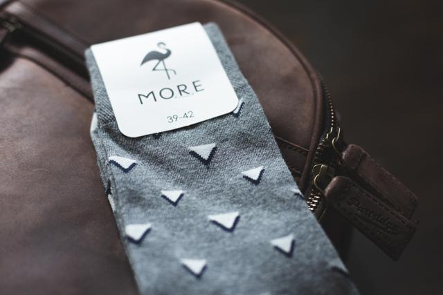 cab831e1b54 Pánské ponožky MORE 051 - šedá - 43-46