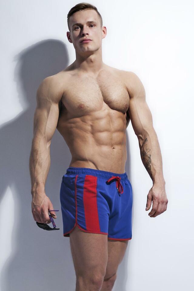 Pánské šortky Alpha Male Curso blue
