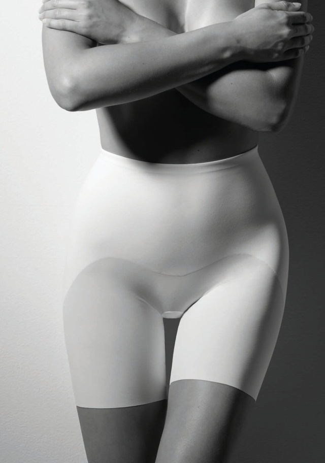 Dámské stahující kalhotky Cotonella CD033 - L - Bílá