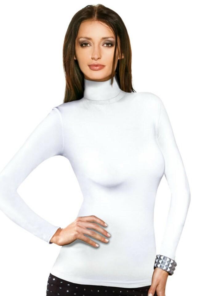 Dámské tričko Kimi white - L - bílá