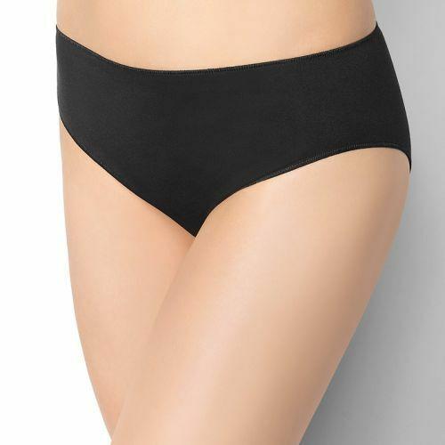 Damske kalhotky brazilky bynature slip midi marilyn s cerna levně ... 4d21e3c025