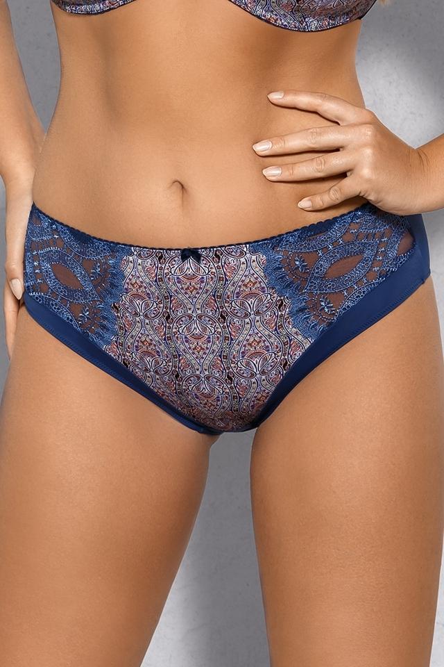 Dámské kalhotky 589 Ebru - L - tmavě modrá