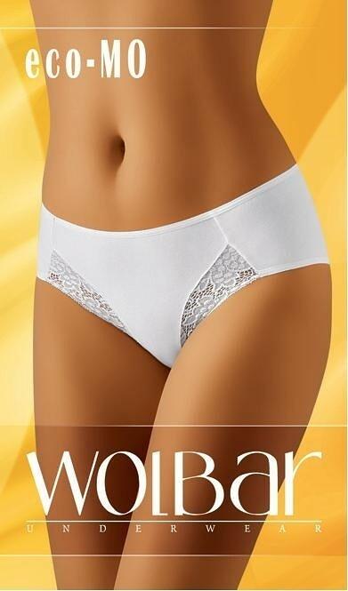 Kalhotky Wolbar eco-MO - L - bílá