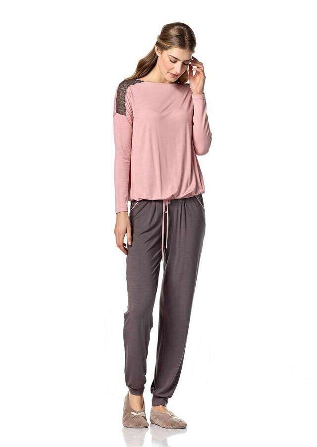 Dámské pyžamo 10-4761 - Vamp - M - starorůžová