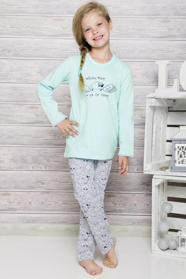 Dívčí pyžamo 690 mint