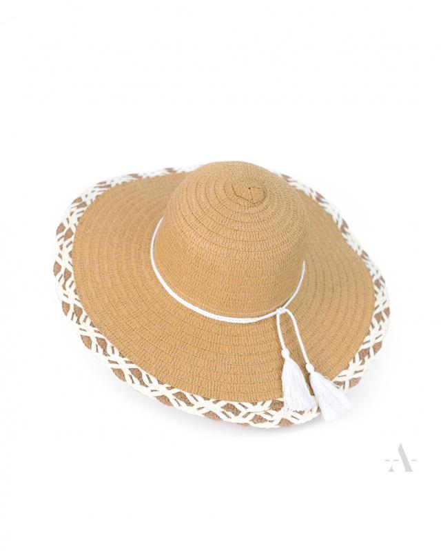 Dámský klobouk 19179 Letní fantazie - Art of Polo - uni - tmavě růžová