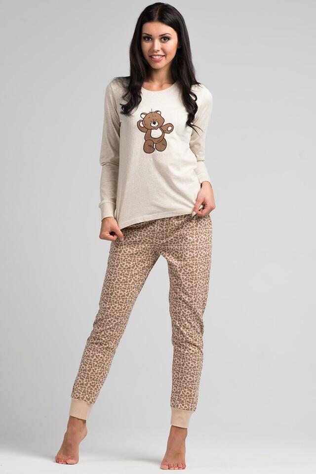 Dámské pyžamo Rossli SAL-PY 1020 - XL - béžová