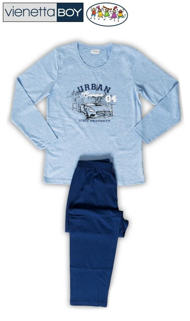 Dětské pyžamo dlouhé Auto Urban