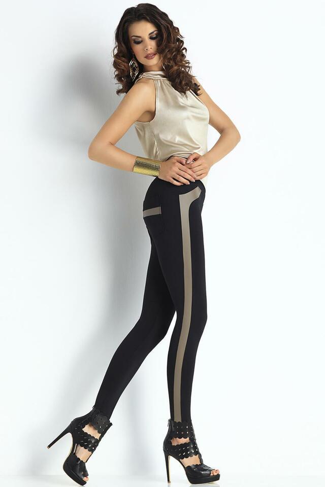 Dámské legíny Trendy Legs Evelin - S - černá