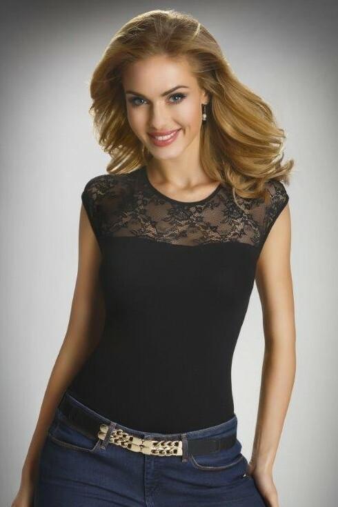 Dámské triko Paulina černé - L