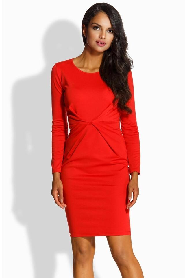 Dámské šaty Lemoniade L219 - S - červená