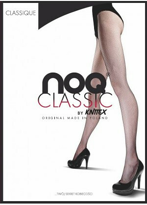 Punčochové kalhoty Knittex Noa Classique - 4-L - černá